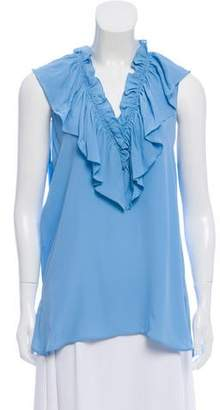 Marni Ruffled Sleeveless Blouse w/ Tags
