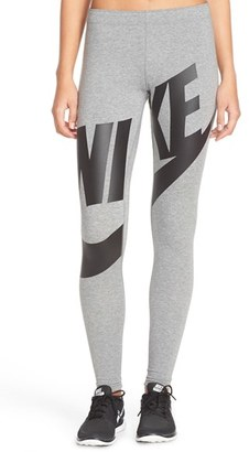 Women's Nike 'Leg-A-See' Exploded Logo Leggings $45 thestylecure.com