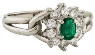 Ring Emerald & Diamond