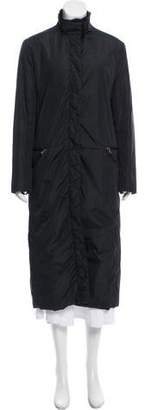 Prada Fur-Lined Long Coat