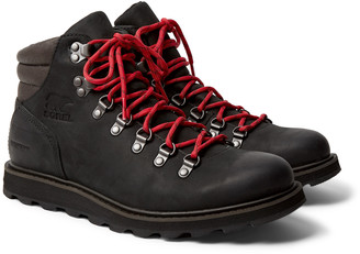 Sorel Madson Hiker Waterproof Nubuck Boots - Men - Black