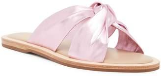Rachel Zoe Hampton Leather Flat Sandal