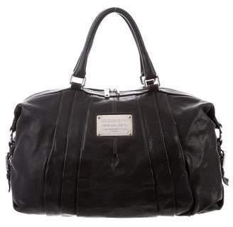Dolce & Gabbana Textured Leather Satchel