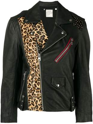 Zadig & Voltaire Zadig&Voltaire Liya Patch leather biker jacket