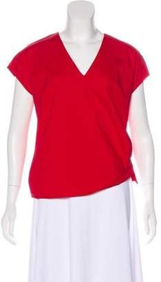 Etro V-Neck Short Sleeve Top