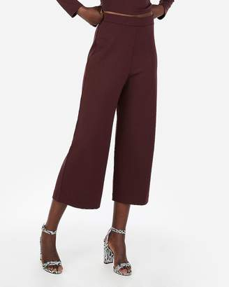 Express High Waisted Culotte Dress Pant