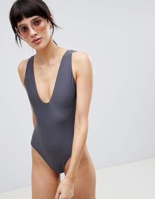 Asos Swimsuit with Square Neck
