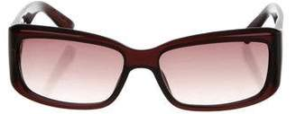 Christian Dior Narrow Gradient Sunglasses