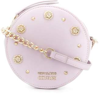 Versace studded round-shaped crossbody bag