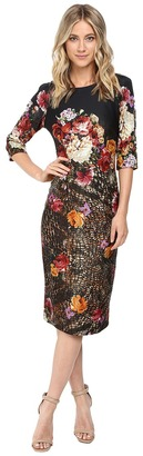 Christin Michaels Hansa Bodycon Midi Dress $94 thestylecure.com