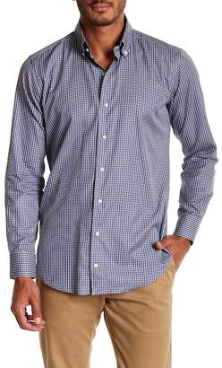 Peter Millar Veneto Checkered Print Regular Fit Woven Shirt