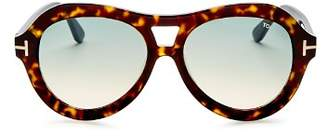 Tom Ford Women's Aviator Sunglasses, 55mm