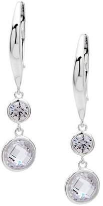 Ralph Lauren Faceted Cubic Zirconia Drop Earrings