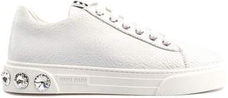 Miu Miu Lace Up Shoe