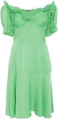 Cult Gaia Scarlett Raw Edge Bustier Dress