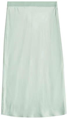 Theory Silk Slip Skirt