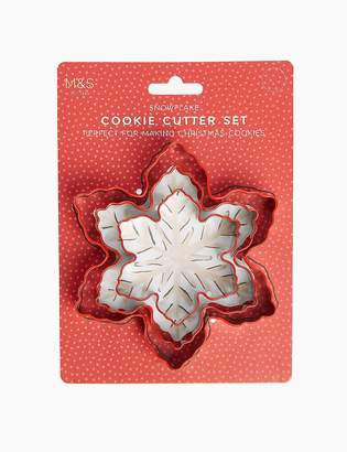 Marks and Spencer Silicone Snowflake Cookie Cutter Set