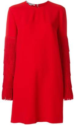 Stella McCartney fringe sleeve sweater dress
