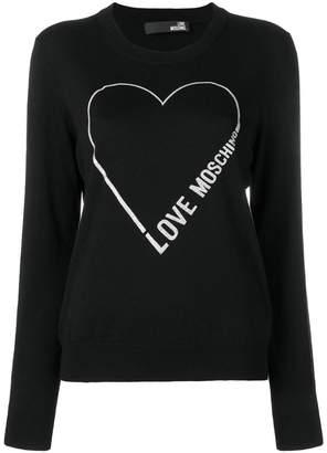 Love Moschino (ラブ モスキーノ) - Love Moschino ハート セーター