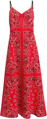 Alexander Wang Bandanna Print Slip Dress