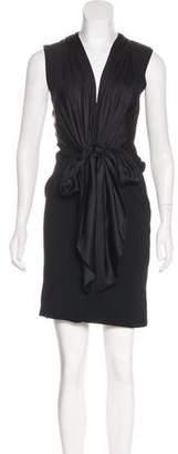 Givenchy Sleeveless Knee-Length Dress