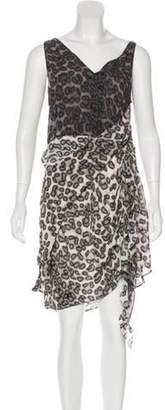 Just Cavalli Sleeveless Knee-Length Dress multicolor Sleeveless Knee-Length Dress