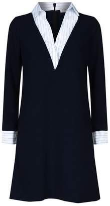 Sandro Layered Shirt Dress