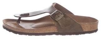 Birkenstock Leather Thong Sandals