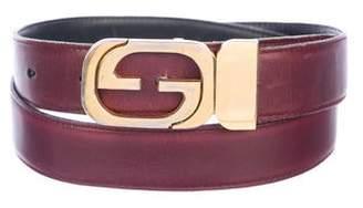 ffbe52bf1f6 Gucci Vintage Interlocking G Leather Belt