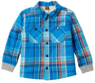 Tea Collection Faux Fur Lined Flannel (Toddler Boys)