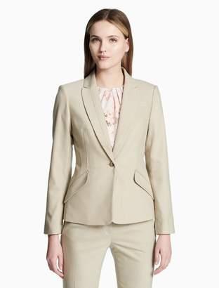 Calvin Klein one button peak lapel jacket