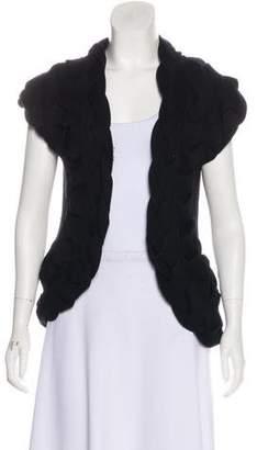 Diane von Furstenberg Wool Braided Cardigan