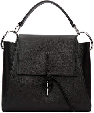 3.1 Phillip Lim Black Leigh Top Handle Satchel