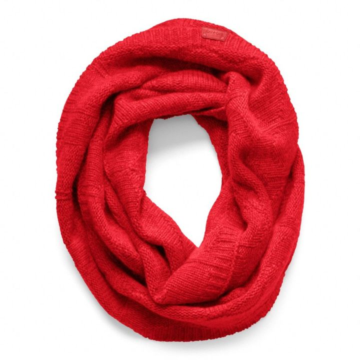 Sculpted C Infinity Scarf