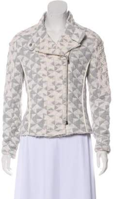 IRO Patterned Zip-Up Jacket multicolor Patterned Zip-Up Jacket