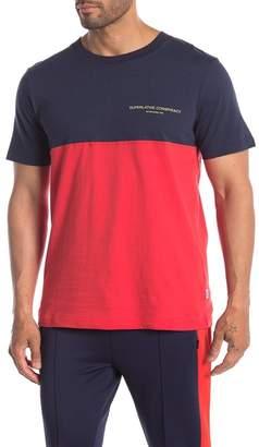 Wesc Block Colorblock Crew Neck T-Shirt