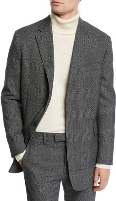 Men's Glen Plaid Wool Jacket