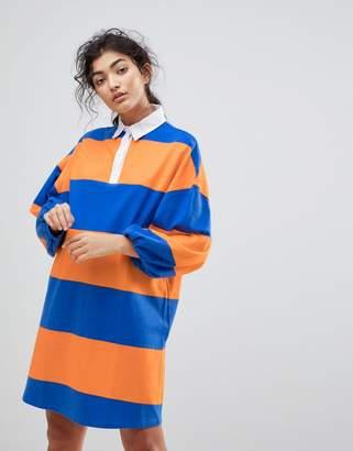 Asos DESIGN Rugby T-Shirt Dress