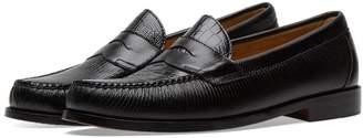 Engineered Garments x Weejun Logan Croc Penny Loafer