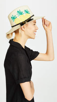 Kate Spade Pineapple Trilby Hat