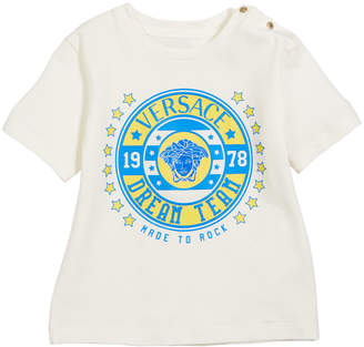Short-Sleeve Logo Graphic Tee, Size 12-36 Months