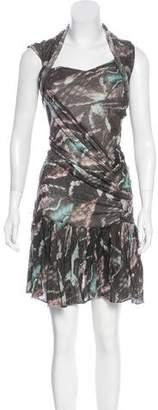 Isabel Marant Sleeveless Knit Knee-Length Dress