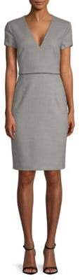 BOSS Doritala Textured Sheath Dress
