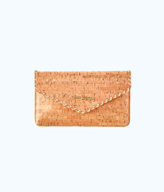 Lilly Pulitzer St. Barts Cork Clutch