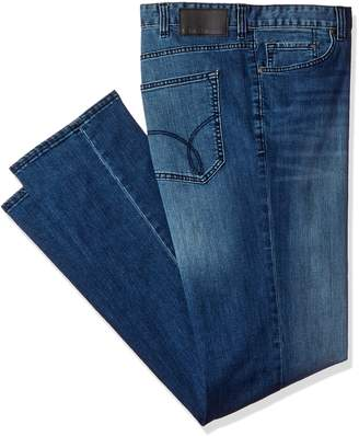 Calvin Klein Jeans Men's Big and Tall Relaxed Fit Jean