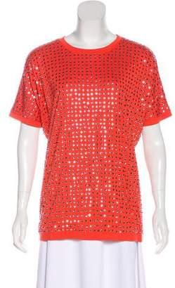 Diane von Furstenberg Enid Sequin Embellished Top