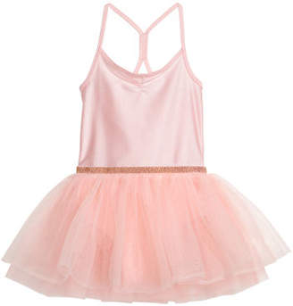 H&M Dance Dress with Tulle Skirt - Pink