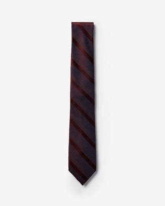 Express Narrow Diagonal Stripe Silk Tie