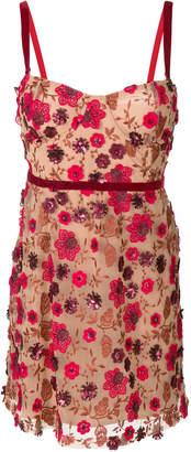 For Love & Lemons embellished lace dress