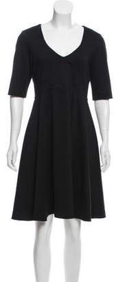 Zac Posen Z Spoke by Short Sleeve Knee-Length Dress